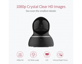 YI 1080p Dome Camera HD YI93011 black YI93011