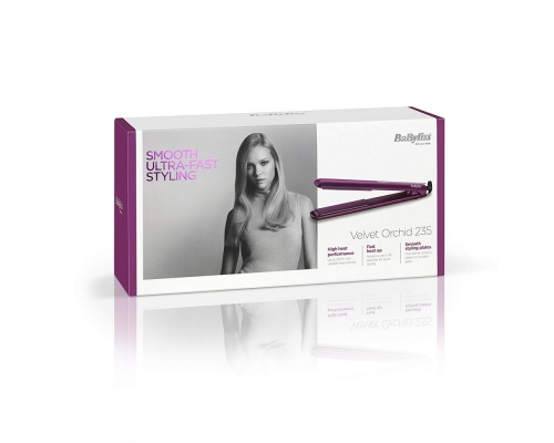 BaByliss Velvet Orchid 235 Hair Straightener