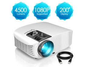 ELEPHAS 1080P HD LED PROJECTOR YG600W