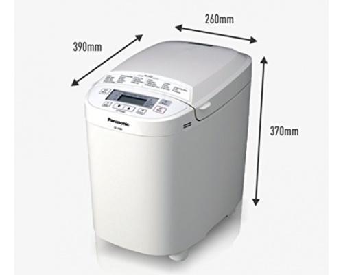 Panasonic SD-2500 WXC Automatic White Αρτοπαρασκευαστής