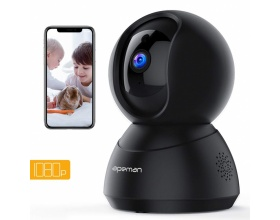 APEMAN WiFi Camera Baby Monitor 1080P IP ID75 Black