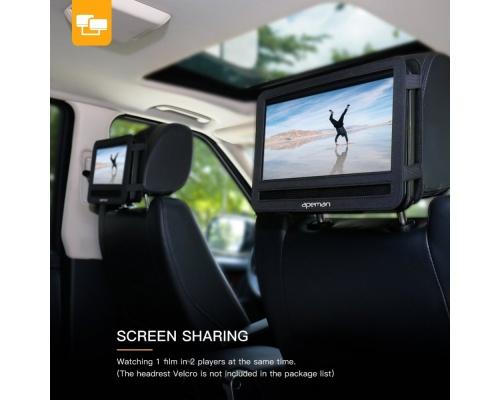 """APEMAN 10.5"""" Portable DVD Player PV1060"""