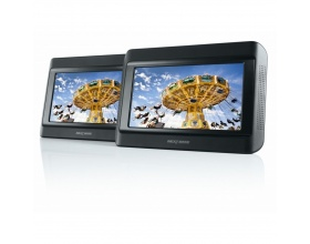 NEXTBASE Click & Go Click 9 Lite Duo Twin Screen Portable DVD Player NBCG9LD
