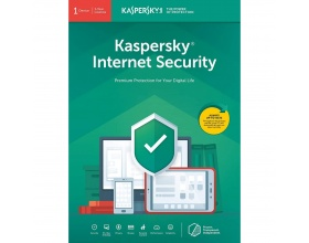 Kaspersky Internet Security 2020 1 User - 1 Year - Multi-Device - Retail Box