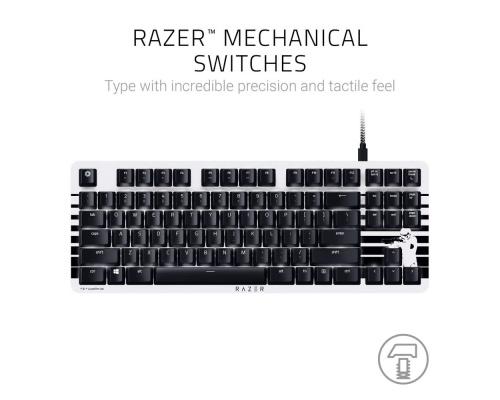 Razer BlackWidow Lite STORMTROOPER Ed. Orange Switches, Tenkeyless US Mechanical Keyboard (8886419343608)