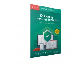 Kaspersky Internet Security 2020 (3 Devices, 1 Year) Retail Box (PC/Mac/Android)