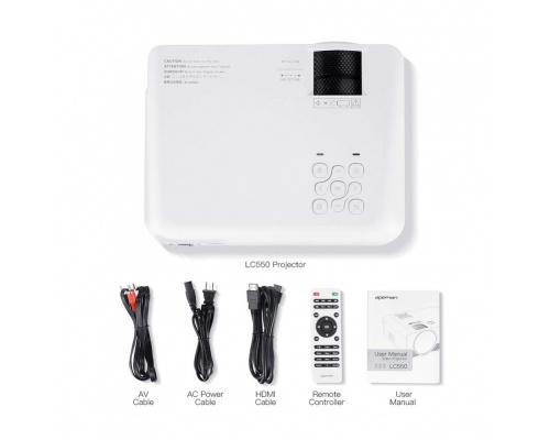 Apeman LC550 Portable Mini Projector 1080P