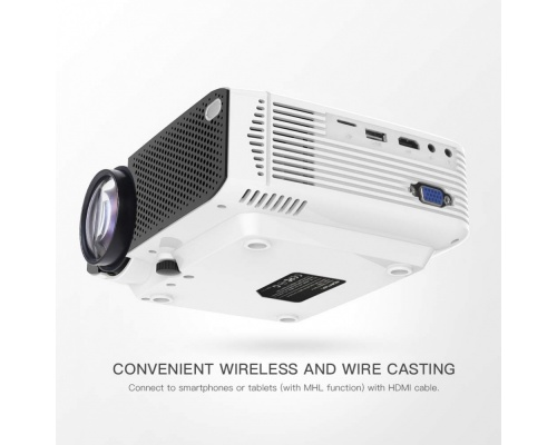 Apeman LC350 Portable Mini Projector 1080P