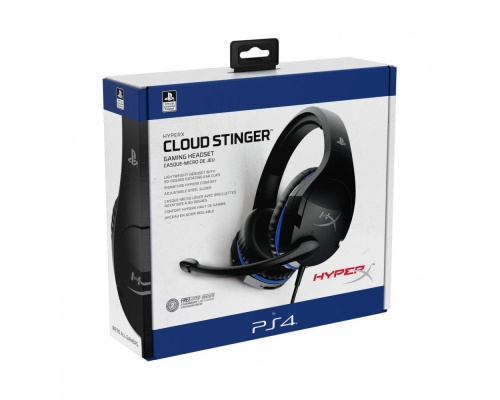 HyperX Cloud Stinger Gaming Headset for PS4 [HX-HSCSS-BK/EM]