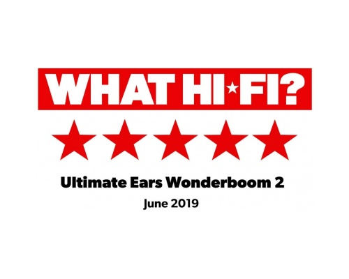 Ultimate Ears Wonderboom 2 Black πακέτο των 2
