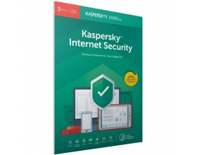 Kaspersky Internet Security 2020 (3 Devices, 2 Years) Retail Box (PC/Mac/Android)