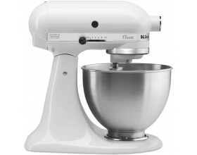 KitchenAid 5K45SSEWH Οικιακό Μίξερ Ζαχαροπλαστικής Λευκό 250Watt - 4,28Lit
