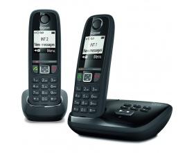 Ασύρματο Τηλέφωνο Gigaset AS470 Duo Black (EU)
