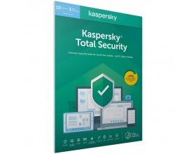 Kaspersky Total Security 2020 3 Devices, 2 Year ) Retail Box (PC/Mac/Andro Special Art Edition