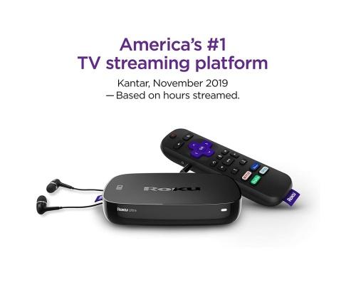 Roku Ultra 4670R 2019 Streaming Media Player 4K/HD/HDR