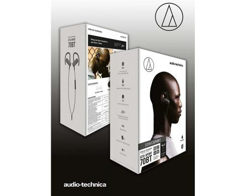 Audio Technica ATH-SPORT70BT Black