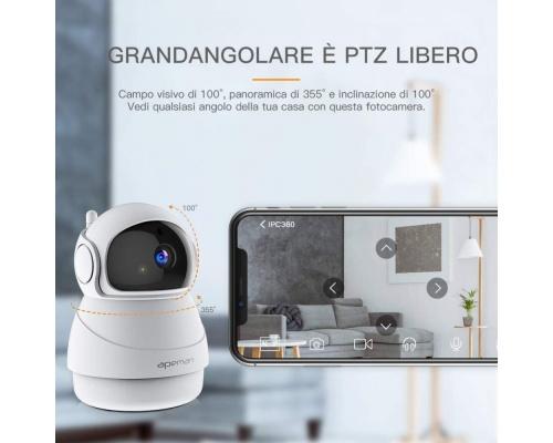 APEMAN WiFi Camera Baby Monitor 1080P IP ID73