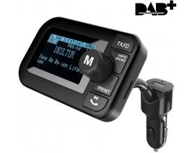 "FirstE DAB-105 Car Radio Adapter 2.3"" LCD Bluetooth FM Transmitter"