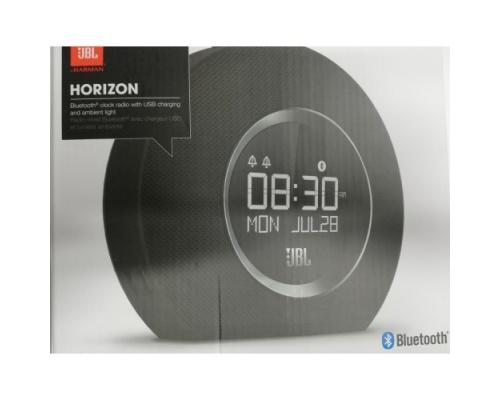 JBL HORIZON Ασύρματο Ηχείο με Ρολόι και Ραδιόφωνο Black