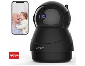 Victure PC540 1080P FHD WiFi IP Camera Baby Monitor Black