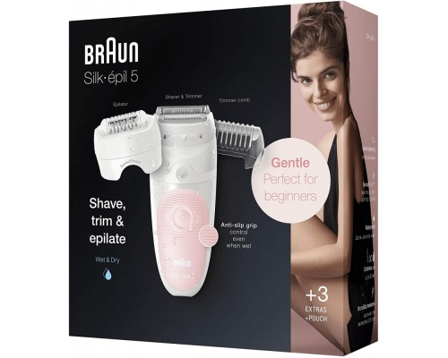 Braun Silk-Epil Wet & Dry epilator 5-620