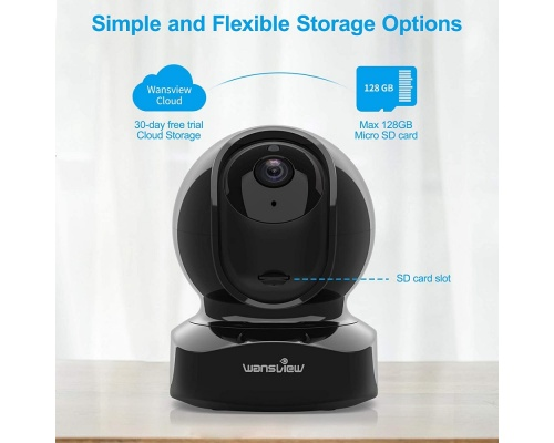 Wansview 1080P FHD Dome Camera Q5 636B