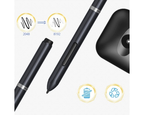 XP-Pen Deco01 Professional Graphic Drawing Tablet (FRDC01)