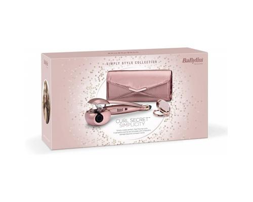 BaByliss Curl Secret Simplicity Gift Set, Rose Gold 2663GU