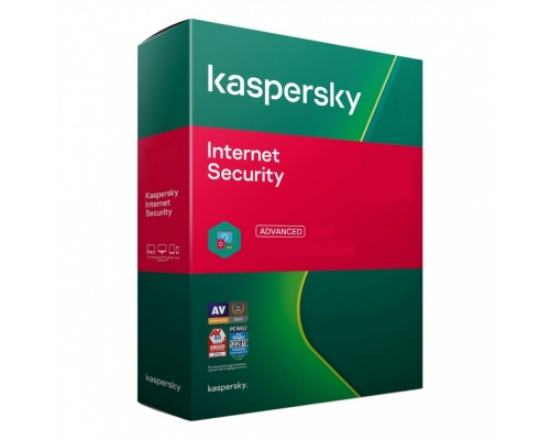 Kaspersky Internet Security 2021 (3 Devices, 1 Years) Retail box Αποστόλη με courier