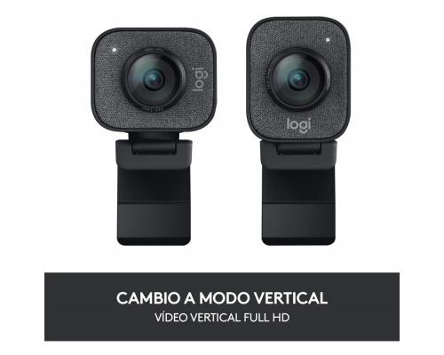 Logitech Webcam StreamCam Graphite