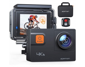 "Apeman A87 4K Action Camera 16MP WiFi Αδιάβροχη 40Μ 2"" Οθόνη, 170° Οπτικό Πεδίο"