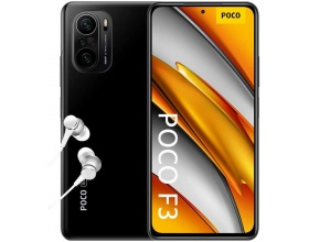 Xiaomi Poco F3 5G 6GB/128GB Night Black Dual Sim (Ελληνικό menu-Global Version) EU
