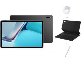 HUAWEI MatePad 11(2021) 6GB 64GB Γκρι + keyboard AZERTY + Pen