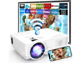 MVV M8-TPAPortable Mini wifi Projector 1080P