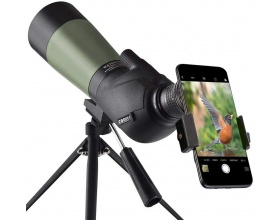 Gosky 20-60x60 HD Spotting Scope with Tripod, Carrying Bag and Scope Phone Adapter