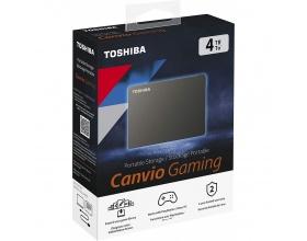"Toshiba Canvio Gaming USB 3.2 Εξωτερικός HDD 4TB 2.5"" Μαύρο"