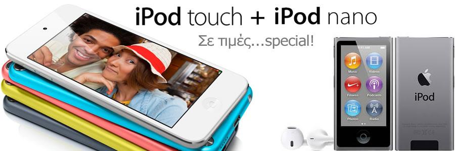 Ipod Touch + Ipod Nano